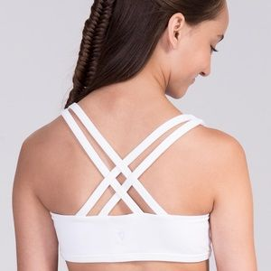 Ivivva by Lululemon Vitality Sports Bra Strappy